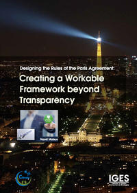 Designing the rules of the Paris Agreement: creating a workable framework beyond transparency