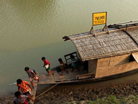 Climate Change: 'Floating schools' in Bangladesh creating awareness, taking education to villages