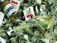 Health Dept asked to clear medical waste from Kadamba plateau