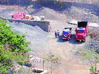 104 illegal stone crushers destroyed in Rohtas