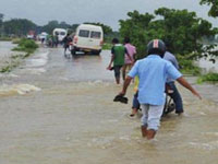 Flood fury: Rajnath calls up Sonowal, assures Central help