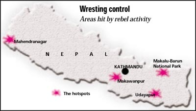 Caught in the crossfire in Nepal