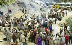 Police fires on Himachal hydel project protestors