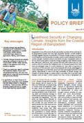 Livelihood security in changing climate: insights from the coastal region of Bangladesh