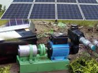 Solar-powered pump sets to mitigate irrigation woes