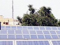 In a first, solar powered lights on Basant Day