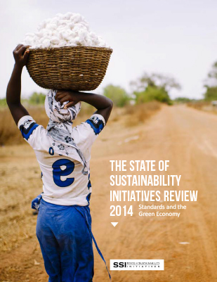 The state of sustainability initiatives review 2014: standards and the green economy
